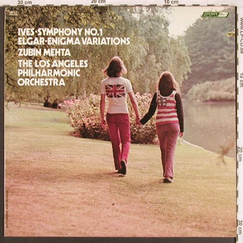 Ives,Charles / Elgar: Symphony No.1/Enigma Variations, London ffrr(CS 6816), UK, 1973 - LP - L7327 - 9,00 Euro