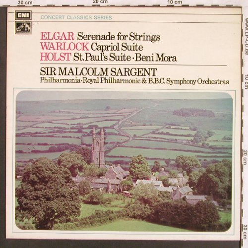 Elgar,Edward / Warlock / Holst: Serenade for Strings/Capitol Suite, EMI HMV(SXLP 30126), UK,  - LP - L7328 - 6,00 Euro