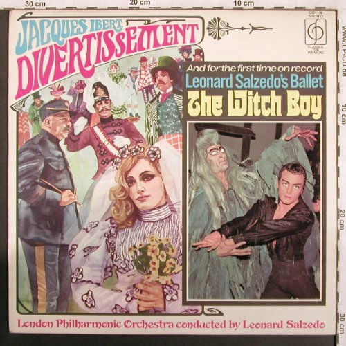 Ibert,Jaques / Leonard Salzedo: Divertissement/The Witchboy, Classics for Pleasure(CFP 179), UK, 1971 - LP - L7349 - 7,50 Euro