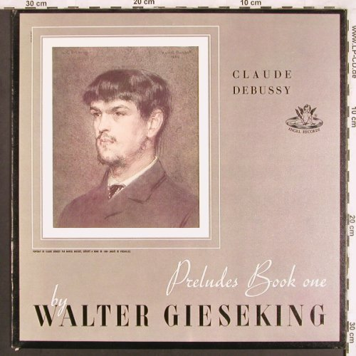 Gieseking,Walter: Debussy, Preludes Book one,Preludes, Angel Rec.(35 066), US,  - LP - L7351 - 7,50 Euro