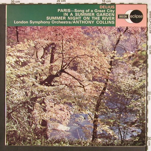Delius,Frederick: Paris, In a summer garden, Decca Eclipse(ECS 634), UK, 1972 - LP - L7364 - 5,00 Euro
