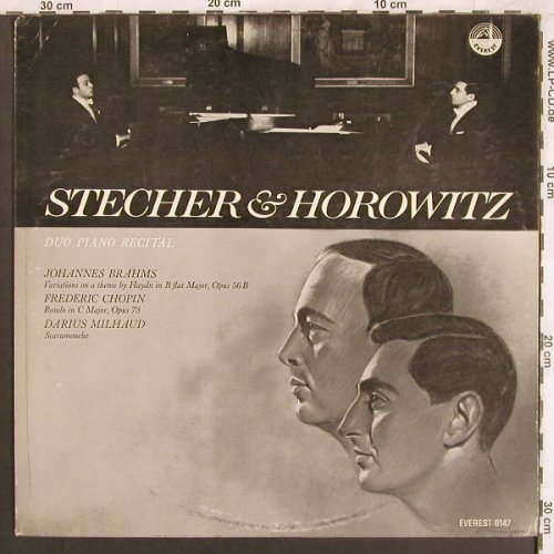 Stecher & Horowitz: Duo Piano Recital, vg-/m-,bad cond., Everest Records(6147), US,  - LP - L7414 - 5,00 Euro