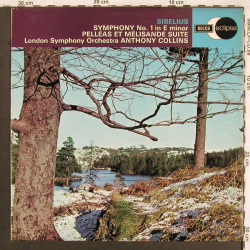 Sibelius,Jean: Symphonie No.1 in E minor,op.39,46, Decca Eclipse(ECS 581), UK, 1971 - LP - L7439 - 6,00 Euro
