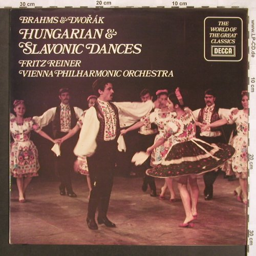 Brahms,Johannes / Dvorak: Hungarian & Slavonic Dances, Decca(SPA 377), UK,  - LP - L7490 - 7,50 Euro