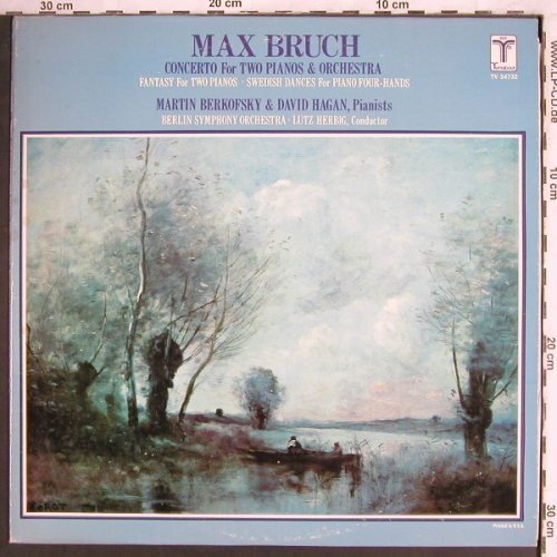 Bruch,Max: Concertos for two Pianos&Orch., Turnabout Vox(TV 34732), US, 1978 - LP - L7501 - 7,50 Euro