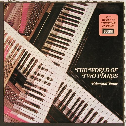 Eden,Bracha & Alexander Tamir: The World of two pianos, vg+/m-, Decca(SPA 349), UK, 1974 - LP - L7539 - 5,00 Euro