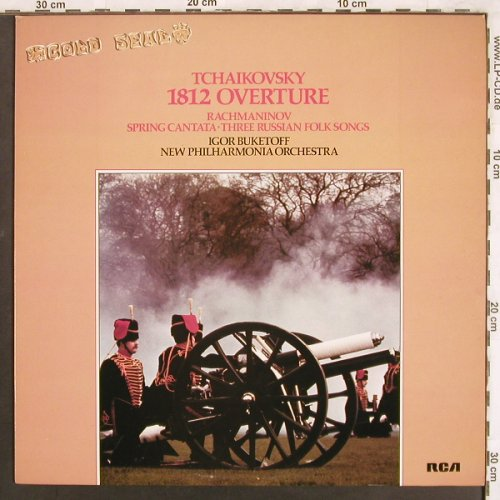 Tschaikowsky,Peter / Rachmaninoff: 1812 Ouverture op.49/Spring Cantata, RCA(GL 42924), UK, 1979 - LP - L7545 - 5,00 Euro