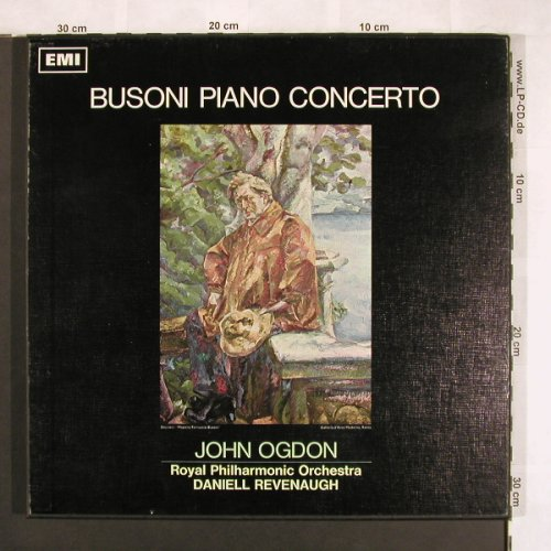 Busoni,Ferruccio: Piano Concerto,op.39, Box, His Masters Voice(ASD 2336), UK, 1967 - 2LP - L7662 - 9,00 Euro