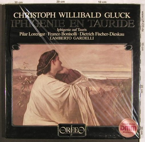 Gluck,Christoph Willibald: Iphigenie Auf Tauris, Box, FS-New, Orfeo(S 052833 F), D, 1983 - 3LP - L7665 - 20,00 Euro