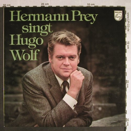Prey,Hermann: singt Hugo Wolf, Philips(6520 017), D, 1974 - LP - L768 - 6,00 Euro