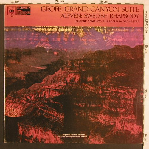 Grofé,Ferde / Alfven: Grand Canyon Suite/Swedish Rhaps., CBS(61266), UK,  - LP - L7718 - 9,00 Euro