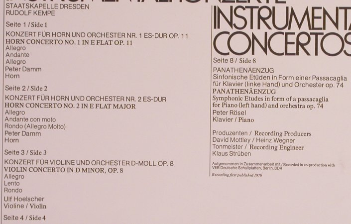 Strauss,Richard: The Orchestral Works Vol.4, Box, EMI(SLS 5067), UK, m-/vg+,  - 4LPQ - L7750 - 12,50 Euro