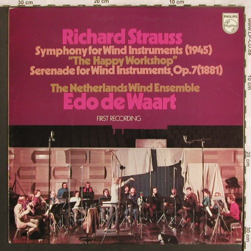 Strauss,Richard: Symphony for Wind Instrum.(1945), Philips(6500 097), NL, 1971 - LP - L7754 - 7,50 Euro