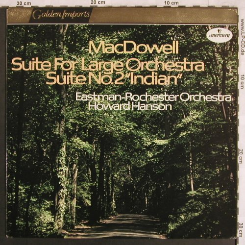 MacDowell,Edward: Suite for Large Orchestra,op.42,48, Mercury Golden Imports(SRI 75026), NL,  - LP - L7807 - 9,00 Euro
