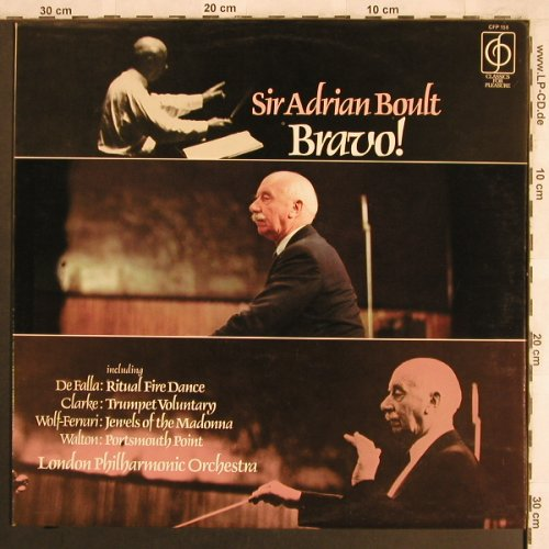 Bould,Sir Adrian: Bravo!, Classics for Pleasure(CFP 158), UK,  - LP - L7823 - 6,00 Euro