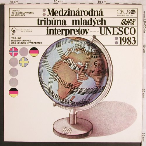 V.A.International Rostrum of Young: Performers 1983, Foc, Opus/Unesco(9110 1594-95), CZ, 1984 - 2LP - L7831 - 7,50 Euro