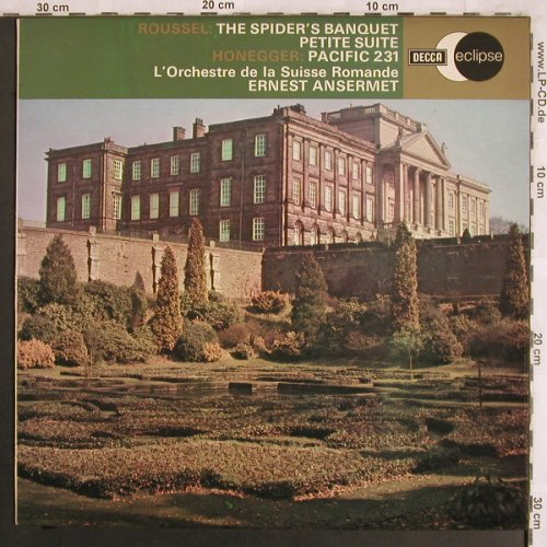 Roussel,Albert: The Spider's Banquet.../Pacific 231, Decca Eclipse(ECS 756), UK, 1975 - LP - L7838 - 6,00 Euro