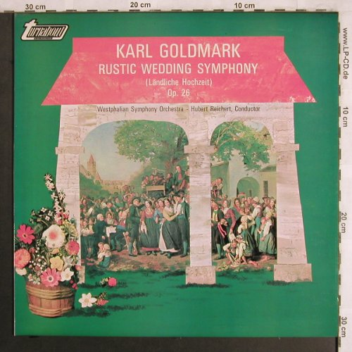 Goldmark,Karl: Rustic Wedding Symphony,op.26, Turnabout Vox(TV 34410S), US, 1971 - LP - L7903 - 7,50 Euro