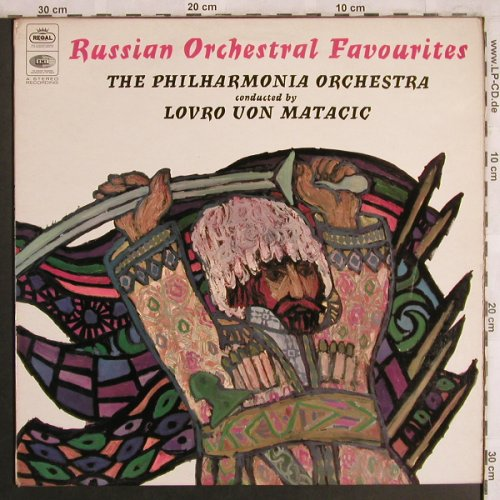 Borodin,Alexander/Rimsky-K./Mouss.: Russian Orchestral Favourites, Regal(SREG 1049), UK,vg+/m-, 1959 - LP - L7955 - 5,00 Euro