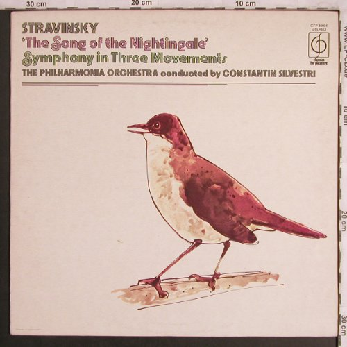 Strawinsky,Igor: The Song of the Nightingale, Classics for Pleasure(CFP 40094), UK, Ri,  - LP - L8052 - 6,00 Euro