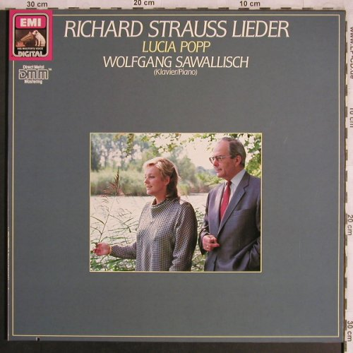 Strauss,Richard: Lieder, Foc, co, EMI(27 0255 1), D, 1985 - LP - L8067 - 6,00 Euro