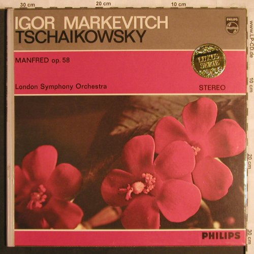 Tschaikowsky,Peter: Manfred, op.58, Foc, Philips(835 250 LY), NL,  - LP - L8072 - 12,50 Euro