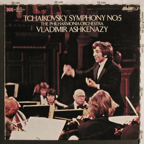 Tschaikowsky,Peter: Symphonie Nr.5, London ffrr(CS 7107), UK, co, 1978 - LP - L8083 - 6,00 Euro
