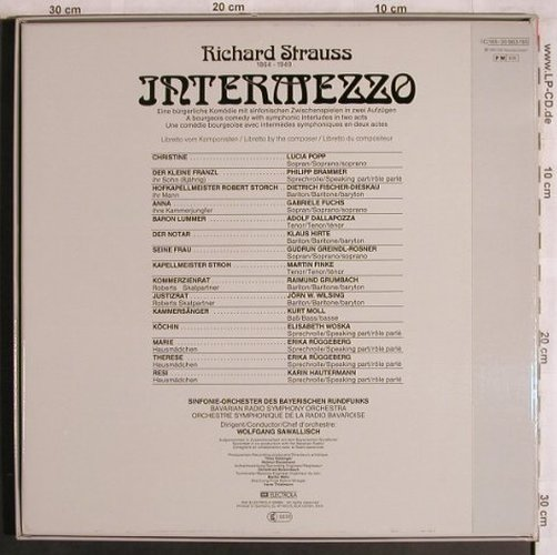 Strauss,Richard: Intermezzo, Box, EMI(165-30 983/85), D, 1980 - 3LP - L8092 - 12,50 Euro