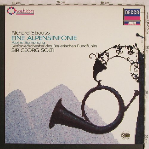Strauss,Richard: Eine Alpensinfonie op.64, Decca ADRM(6.43516 OG), D, co, 1987 - LP - L8097 - 6,00 Euro