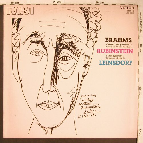 Brahms,Johannes: Concerto N.1 in Re Minore, RCA Red Seal(LSC 2917), I,  - LP - L8177 - 6,00 Euro