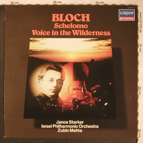 Bloch,Ernst: Selomo,Voice in the Wilderness, London Enterprise(414 166-1), NL, Ri, 1985 - LP - L8178 - 12,50 Euro