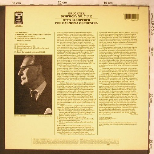 Bruckner,Anton: Symphonie No.7 in E, EMI(AE-34420), CDN, co, 1985 - LP - L8187 - 6,00 Euro