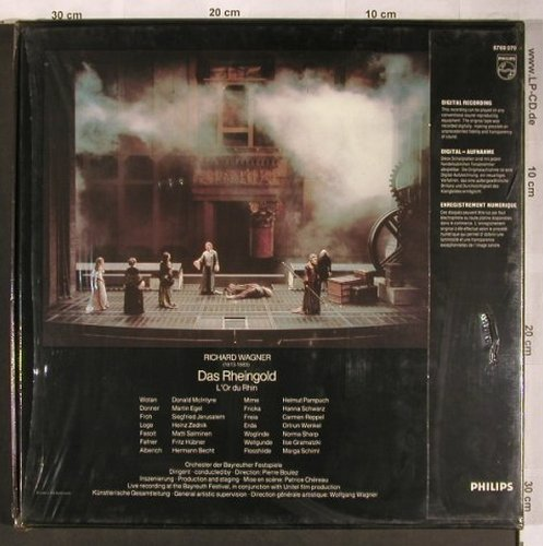 Wagner,Richard: Das Rheingold,Box, FS-New, Philips(6769 070), NL,  - 3LP - L8199 - 20,00 Euro