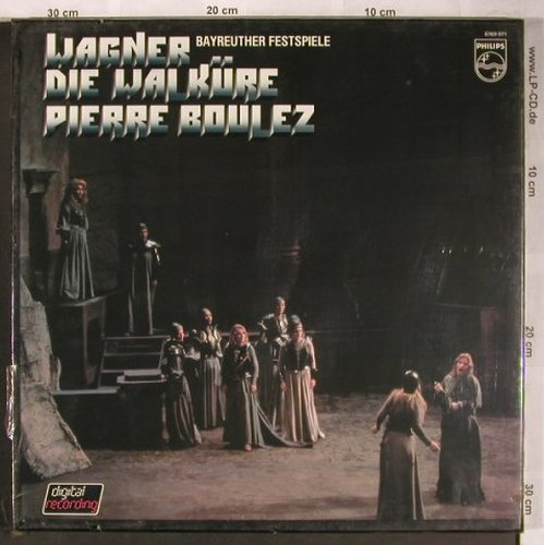 Wagner,Richard: Die Walküre, Box, FS-New, Philips(6769 071), NL,  - 4LP - L8200 - 24,00 Euro