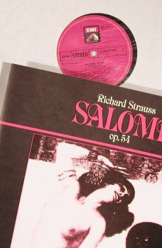 Strauss,Richard: Salome,Box, EMI(165-02 908/09), D, 1978 - 2LP - L8202 - 9,00 Euro