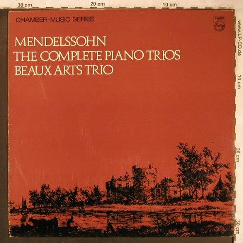 Mendelssohn Bartholdy,Felix: The Complete Piano Trios, Philips(SAL.3646), UK, 1967 - LP - L8210 - 7,50 Euro