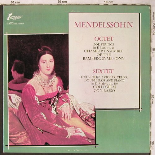 Mendelssohn Bartholdy,Felix: Octet for Strings,op20,Sextet op110, Turnabout Vox(TV 34 403), US,  - LP - L8213 - 7,50 Euro