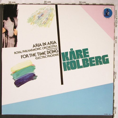 Kolberg,Kare: Aria in Aria,For the Time being,Foc, Norwegian Composers(NC 4916), D, 1987 - LP - L8242 - 21,00 Euro