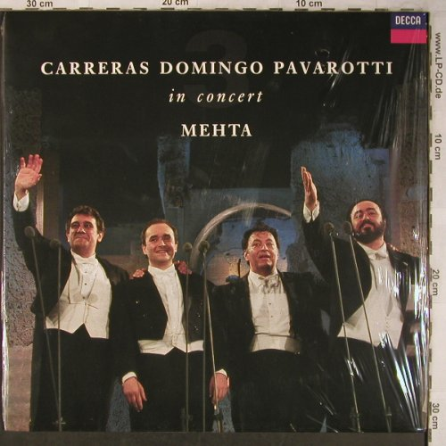 Carreras / Domingo / Pavarotti: In Concert-Mehta, FS-New, Decca(430 433-1), D, 1990 - LP - L8294 - 12,50 Euro