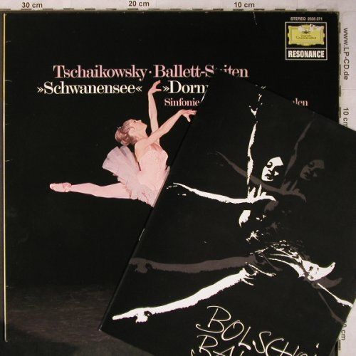 Tschaikowsky,Peter: Ballett-Suiten,op.20,op.66a,vg+/vg+, D.Gr. Resonance(2535 371), D,Ri, 1979 - LP - L8300 - 7,50 Euro