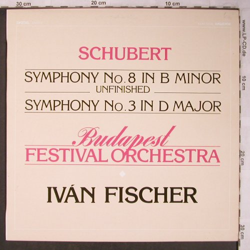 Schubert,Franz: Symphony No.8 & 3 -Unfinished -D759, Hungaroton(SLPD 12 616), H, 1984 - LP - L8303 - 7,50 Euro