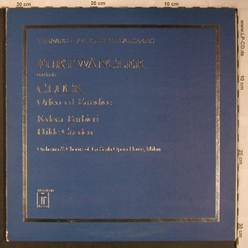 Gluck,Christoph Willibald: Orfeo ed Euridice, Foc, Turnabout Vox(THS 65112/13), US,m-/vg+,  - 2LP - L8366 - 7,50 Euro