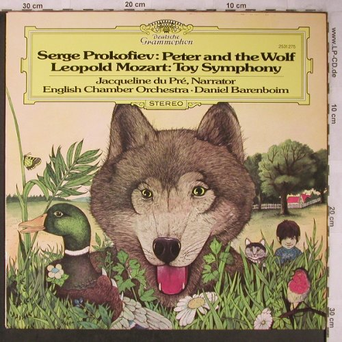 Prokofieff,Serge / Mozart: Peter and the Wolf/Toy Symphony, D.Gr. Musterplatte(2531 275), D, stol, 1980 - LP - L8367 - 6,00 Euro