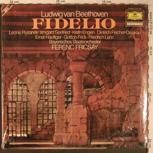 Beethoven,Ludwig van: Fidelio, Foc, FS-New, D.Gr. Resonance(2721 168), D,  - 2LP - L8389 - 9,00 Euro