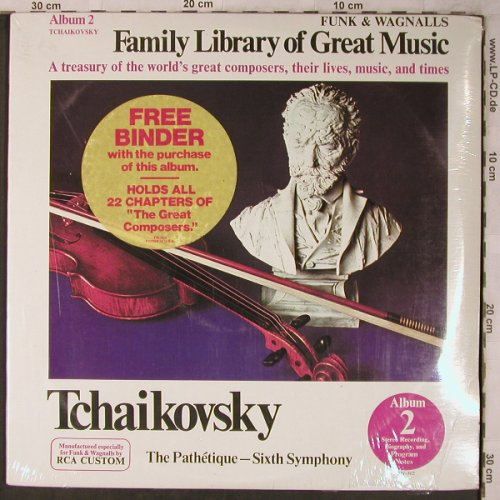 Tschaikowsky,Peter: The Pathétique-Sixt Symph.,+ Binder, Funk & Wagnalls(FW-302), US,FS-New,  - LP - L8494 - 9,00 Euro