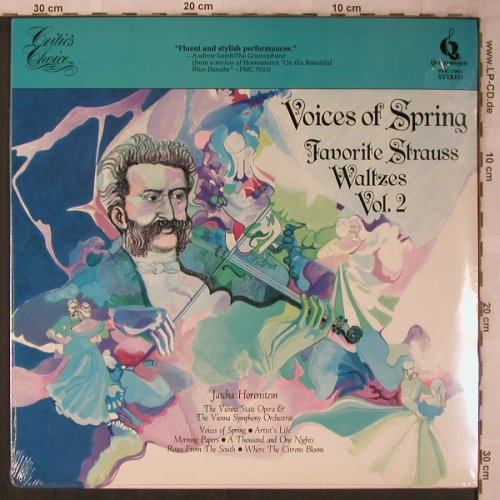 Strauss,Johann: Voices of Spring Vol.2, FS-New, Pickwick(PMC-7001), US, 1978 - LP - L8529 - 6,00 Euro