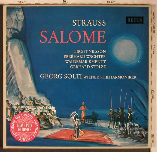 Strauss,Richard: Salome, Box (deutsch), Decca(SXL 200 37/38-B), D, 1961 - 2LP - L8577 - 12,50 Euro