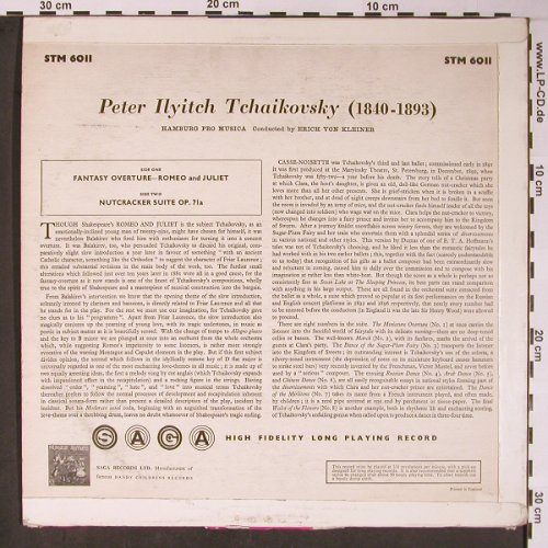 Tschaikowsky,Peter: Nutcracker Suite, Fantasie..VG+/VG+, SAGA(STM 6011), UK,  - LP - L8609 - 5,00 Euro