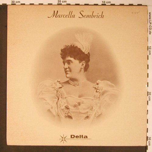 Sembrich,Marcella: Same, stoc.Rossini..Fall, Delta(TQD 3018), UK, 1963 - LP - L8641 - 12,50 Euro