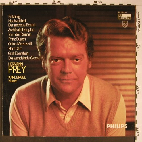 Prey,Hermann: 10 Loewe-Balladen, Philips, Club Ed.(29 692-1), D,  - LP - L8658 - 6,00 Euro